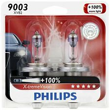 2 Philips 9003/H4 White Super Bright Upgrade Light Bulb Hologen Headlight 67/60W