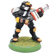 Warhammer 40k Imperial Forces Adeptus Arbites Grenade Launcher Metal oop