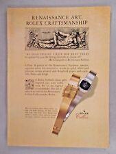 Rolex Cellini Watch PRINT AD - 1981 ~~~ watches, wristwatch