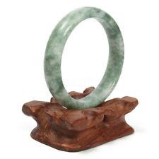 Naturel Chinois Bracelet Bangle Jade Agate Vert Précieuse Pierre Bijoux Cadeau