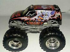 Hot Wheels Monster Jam Vehicle Toy Fangora Vampire Diecast Truck Black HTF