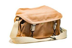 Brown canvas Domke camera bag f-2