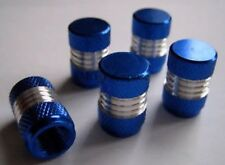 CHROME BLUE DUST VALVE TYRE WHEEL CAPS LEXUS IS200 RENAULT CLIO PEUGEOT 206 UK