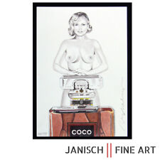 "MEL RAMOS - ""Coco Chanel"", handsigniert, 2015 - mit Buch - sold out!"