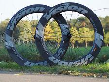 Vision Metron 81 sl disc carbon Clincher ruedas, wheelset, bicicleta de carreras
