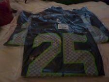 3 Richard Sherman Jerseys and a Seahawks dufflel bag (ALL NEW)