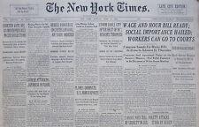 6-1938 June 13 REBELS CONVERGE CASTELLON GOAL AIR RAIDS ORDERED. SPAIN CIVIL WAR