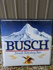 Huge RARE 48x49 Anheuser Busch Beer Outdoor Bar Display Sign VTG Advertising