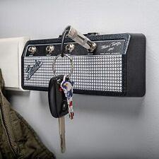 Porte-clé Mural Ampli Fender 4 Guitares Jack Standard Kit Fixation Murale moto