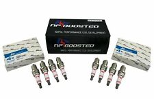 8 Spark Plugs Heat Range 7 for Turbo TT A5 A6 Q5 R8 VW Tiguan Porsche 911 Civic