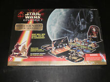 STAR WARS EPISODE I BATTLE FOR NABOO 3-D ACTION GAME HASBRO 1999 FACTORY SEALED