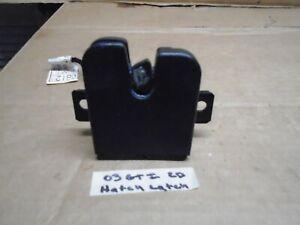 2000-2004 VOLKSWAGEN GOLF GTI 2 DOOR Rear HATCH Latch OEM