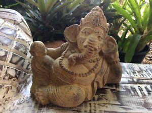 Bali - Lieing down Ganesha statue  - Balinese