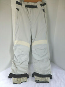 Obermeyer Snow Pants Juniors 16 Silver Light Gray RWS System