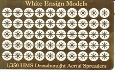 White Ensign Models 1/350 HMS Dreadnought Style Aerial Spreaders Detail Set