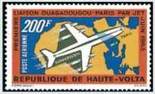 Timbre Avions Haute Volta PA8 * lot 25001
