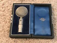 Vintage Neumann Gefell M7 Condenser Microphone Capsule Case Same Legendary U47