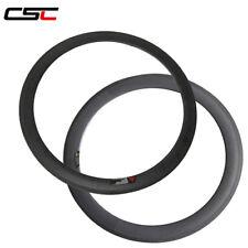 CSC 38+50mm Tubular carbon rim only / carbon bike rim