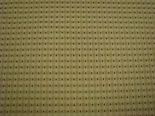 Upholstery decorator Fabric Gold check with red dot BTY