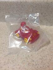 NIP McDonald's Ronald McDonald In Car Turbomacs Rubber Toy Rare