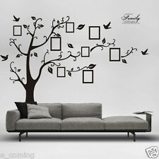 3D DIY Photo Tree PVC Decals Adhesive Wall Stickers Mural Art Home Bedroom Decor