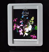 iPad Air Anti-Theft VESA Security Enclosure White Acrylic for POS, Kiosk, Store