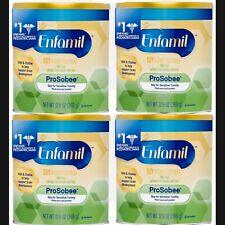 🍼NIB 4 cans Enfamil ProSobee Soy/Based Infant Formula, 12.9oz Sensitive tummy