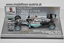 Mercedes GP PETRONAS W03 2012 Michael SCHUMACHER 300. GP Belgien 1:43 Minichamps