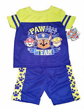 PAW PATROL SHIRT AND SHORTS~SIZE 18 MONTHS~PAWFECT TEAM~NEW W/TAG
