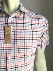 Penguin Shirt, Huntington Plaid, Small, Classic Fit, New-with-Tags