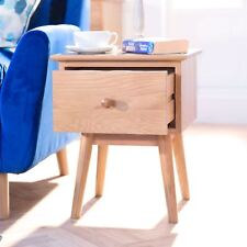 Edvard Olsen Golden Oak sofa table. Lamp table with deep drawer,dovetail joints