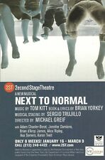 NEXT TO NORMAL original cast with ALICE RIPLEY and BRIAN d'ARCY JAMES off-B'way