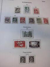 Sammlung Schweiz gestempelt 1907-1944 fast komplett (ohne die teuersten) (1458)