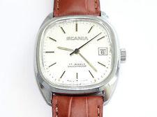 Scania, trucker, date, camions, wrist watch, montre, montre-bracelet, cogne, Orologio, collectionneur. rare *