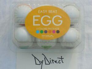 TENGA Egg 6 Variety Pack Magic Egg Male Masturbation Sex Toy 3D Cup Pussy Vagina
