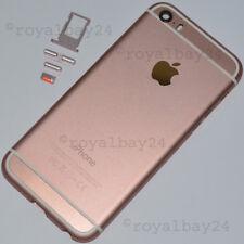 iPhone 5s in iphone 6s-look Aluminium Mittel-Rahmen Rosegold Gehäuse+Tasten NEU!