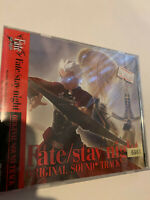 FATE / STAY NIGHT ORIGINAL AUTHENTIC JAPAN CD OST ANIME GAME SOUNDTRACK