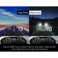 Système d'alarme de survitesse de l'écran LED multicolore à affichage tête