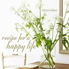 Recipe for a Happy Life, Saban, Cheryl, Good Book
