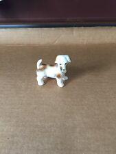 vintage Bone China Terrier Dog Figurine