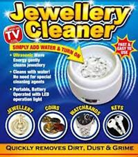 Jewellery Cleaner Bath Compact Ring Watch Dentures Coin Gold Cleaning