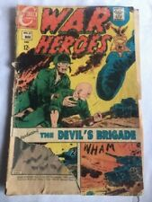 Lot of Four Vintage Combat/War Comic Books from 1967, 1972, 1973 and 1974