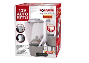 12V In Car Travel Kettle Cigarette Lighter Socket Camping Tea Coffee
