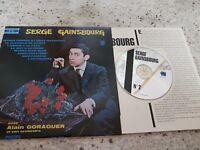 CD 8T SERGE GAINSBOURG AVEC ALAIN GORAGUER POCHETTE 25 CMS EXCLUSIVITE DIAL 1994