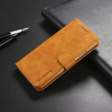 Leather Folio Flip Wallet Case Cover For Apple iPhone XS XR 8 7 6 Plus