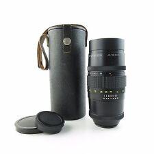 Para m42 last versión Pentacon 4/200 objetivamente lens 15 blades + Case