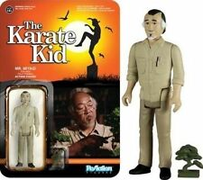 Figura The Karate Kid Reaction Action Figure Mr. Miyagi 10 Cm Funko