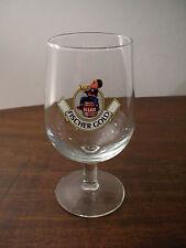 Bicchiere Calice Francia BIRRA FISCHER 0,25 1980 Vintage Beer Glass Verre Biere