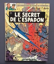 Les aventures de Blake et Mortimer. Le secret de L'espadon T2. Dargaud 1970
