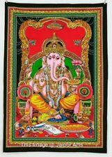 Indian Ganpati Lord Ganesha Tapestry Hippie Bohemian Throw Decor Wall Hanging